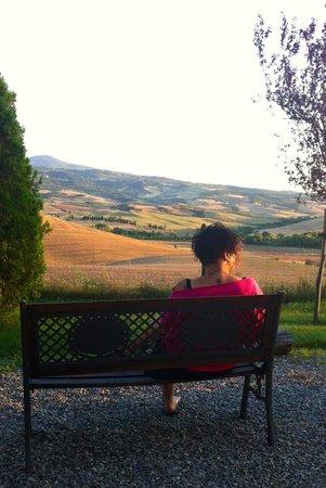 Agriturismo Sant'Ansano: Panorama che toglie il fiato!