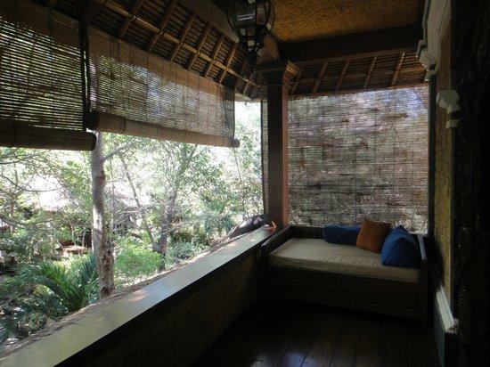 Alam Gili: Fish Suite, upstairs balcony