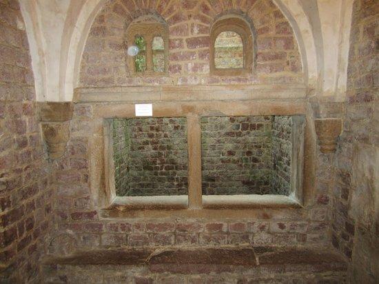 Mittelalterlicher Judenhof: Anteroom Mikwe Speyer