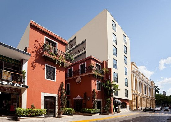 Hotel Casa del Balam: Fachada