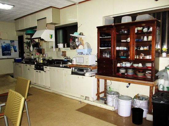 Cyuramarti : Kitchen area of common room