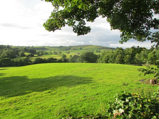 Howgill Holidays Caravan Park and B&B: View from the campsite
