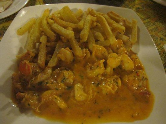 Zandina: Креветки в сливочном соусе