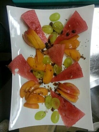 Bioo : ....frutta in bella vista.....