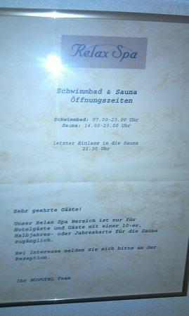 Novotel Freiburg: spa