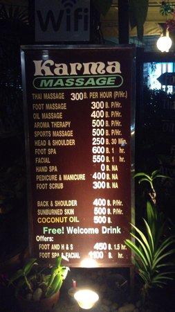Karon, Tayland: price