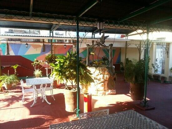 Breakfast terrace picture of hostal autentica pergola for Breakfast terrace