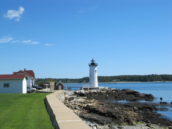 Portsmouth Harbor Lighthouse: View From Beach