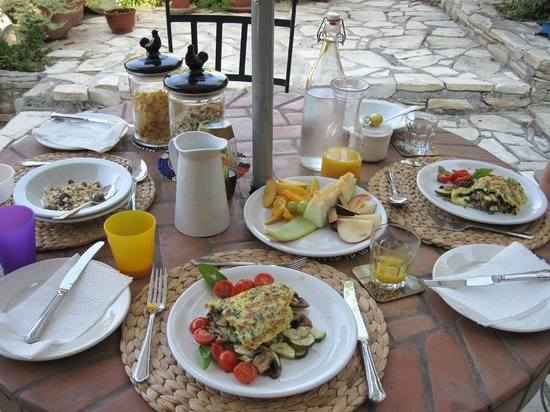 Anna Villa Cyprus Bed and Breakfast : Breakfast