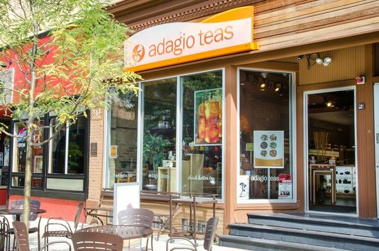 Adagio Teas: A friendly face in Downtown Naperville.