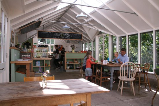 Potager Garden & Glasshouse Cafe