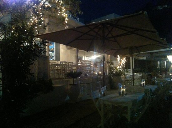 Mare Mare Restaurant : Nice relaxed meal