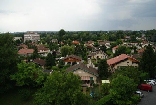Appart'City Genève Gaillard: Vista dalla finestra