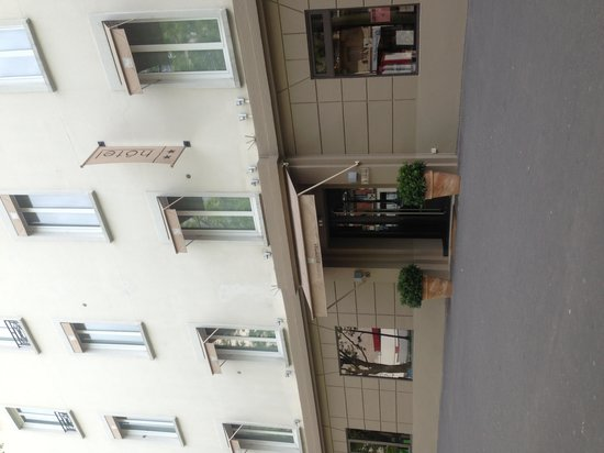 Hotel du Printemps : Façade extérieure de l hôtel