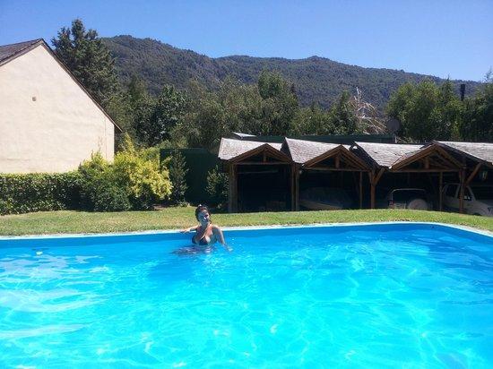 Las Lengas: piscina
