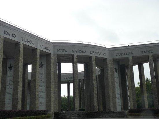 Mardasson Memorial : The memorial