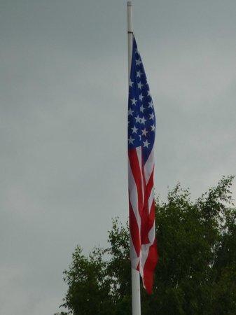 Mardasson Memorial : Flag