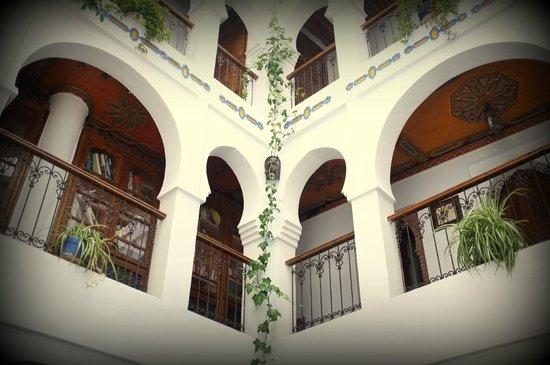 Hotel Riad Casa Hassan Restaurante: Patio