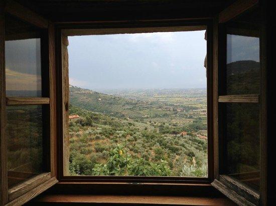 Locanda San Martino a Bocena : Blick aus dem Fenster der Suite