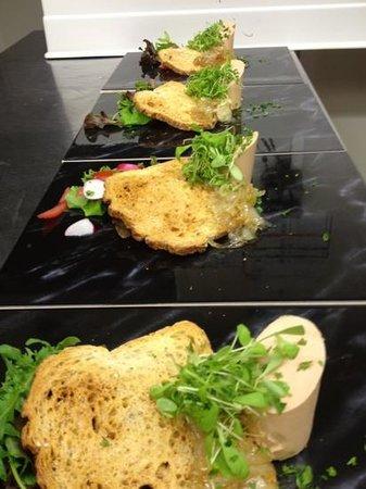 Gasthof 't Zweerd: foie gras