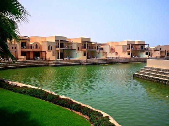 Cove Rotana Resort Ras Al Khaimah: These are the beautifully lined up villas.
