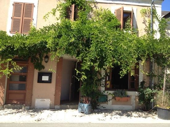 Gournay, Francia: la façade du restaurant