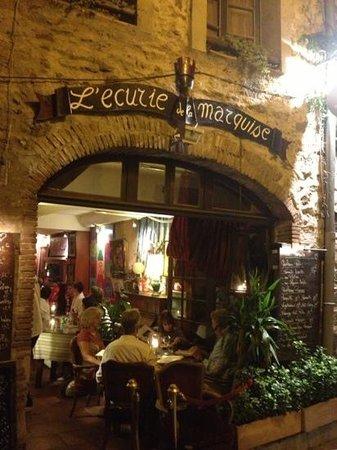 L'ecurie de la Marquise : L'entrée du restaurant