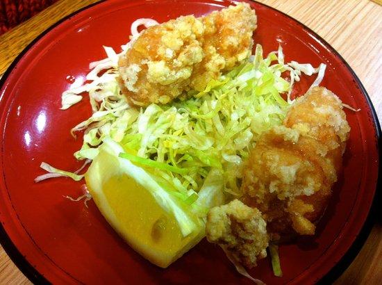 aki : Tempuras de poulet