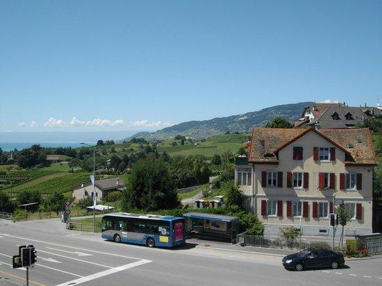 Hotel de Chailly: Vista dall'albergo