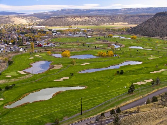 Prineville, OR: Meadow Lakes from the viewpoint