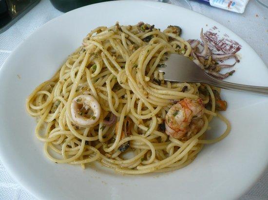 Albergo Nardini: Spaghetti alla marinara