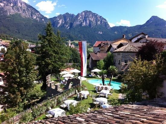 Romantik Hotel Turm: vista dalla terrazza