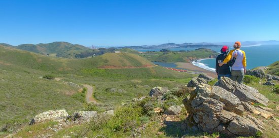 Marin County, Kalifornien: There are quite a few hiking trails available to visitors just north in the Marin Headlands.