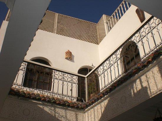 Riad Asmitou : Vue à partir de la terrasse