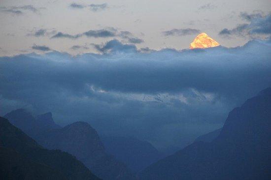 Джошиматх, Индия: Nanda Devi sunset F. Po Egea