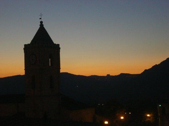 Oliena Luxury Bed and Breakfast  Santa Maria: Aussicht