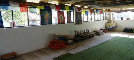 Area de Reuniones - Hostal Samana Wasi Cusco