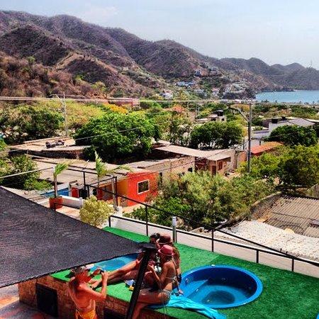 Hotel Kikuxtah : Jacuzzis en la terraza.