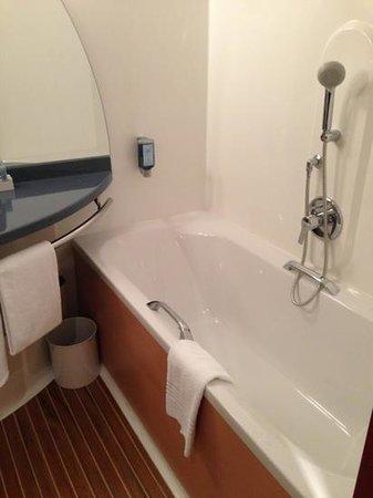 Novotel Suites Hamburg City hotel: vasca
