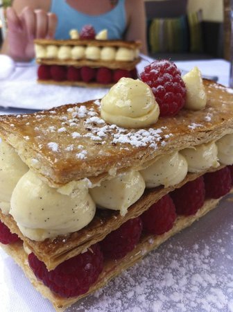 The African Queen: Millefeuilles aux framboises
