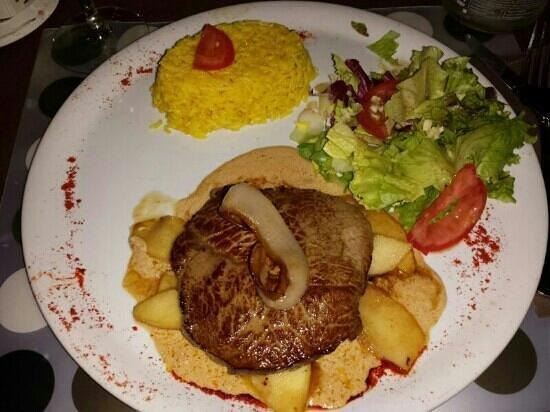 """Brochetterie Tapas L'Orleans : piatto """"especiale"""" :)"""