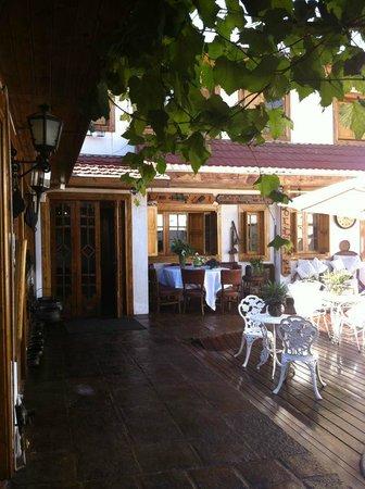 Hotel Boutique Vendimia Premium: Terraza