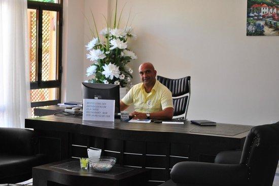 Hotel Side Bella Luna: Hr. Cihan