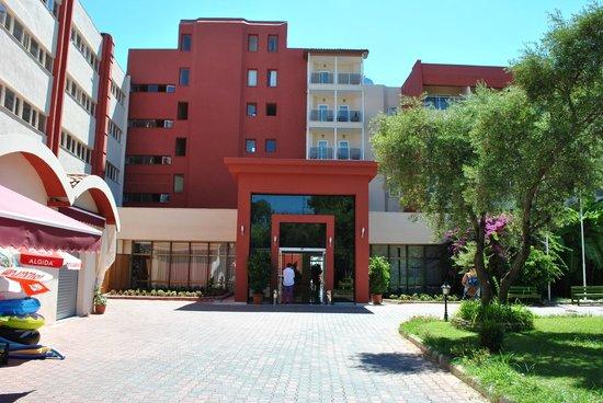 Hotel Side Bella Luna: Hotel Eingang