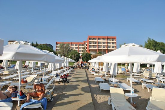 Hotel Side Bella Luna: Strandbereich