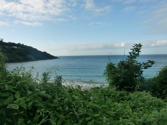 The Borthalan Hotel: The view over Carbis bay