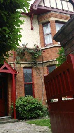 At Home London B&B: entering At Home