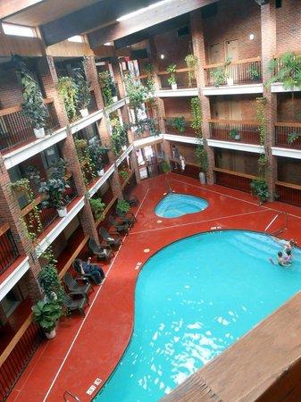 Baymont Inn & Suites Cortez: vue de notre chambre