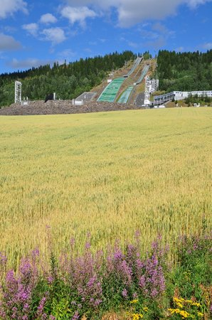 Molla Hotel: Olympiaschanze in Lillehammer