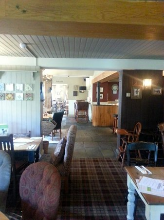 The Red Lion: View of the Bar and seating area
